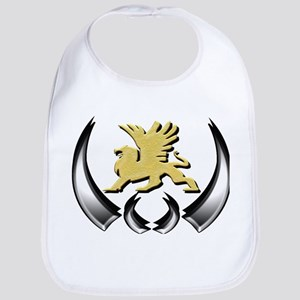 Gold Griffin Bib