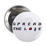 """Spread the Love on 2.25"""" Button (10 pack)"""