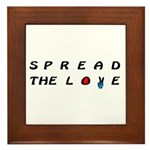Spread the Love on Framed Tile