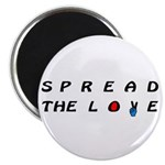 """Spread the Love on 2.25"""" Magnet (10 pack)"""