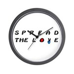 Spread the Love on Wall Clock