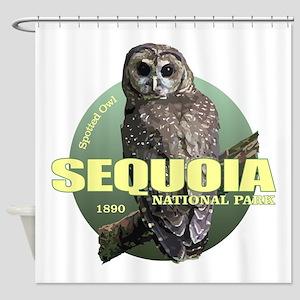 Sequoia (Owl) WT Shower Curtain