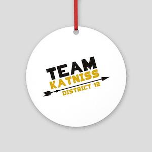 Team Katniss Ornament (Round)