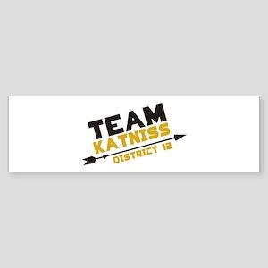 Team Katniss Sticker (Bumper)
