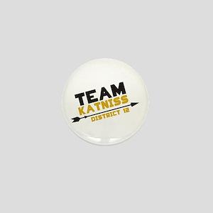 Team Katniss Mini Button