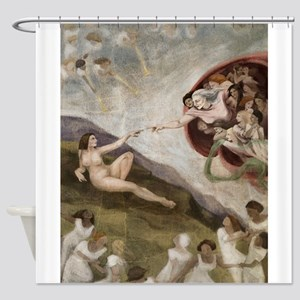 The Goddess Shower Curtain