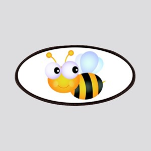 Cute Cartoon Bumble Bee Patches