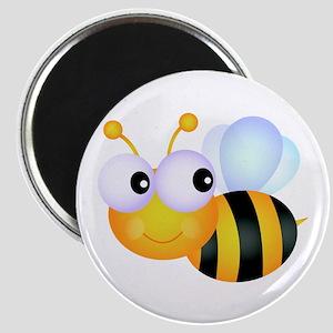 Cute Cartoon Bumble Bee Magnet