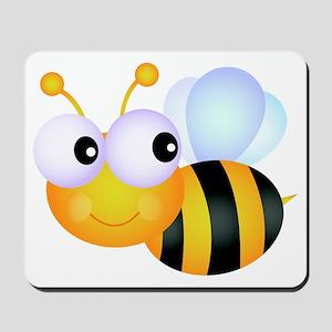 Cute Cartoon Bumble Bee Mousepad