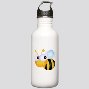 Cute Cartoon Bumble Bee Stainless Water Bottle 1.0