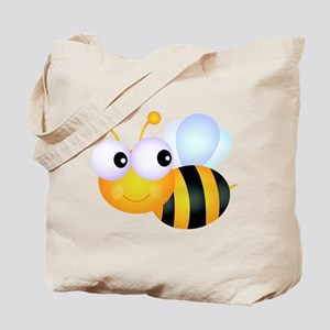 Cute Cartoon Bumble Bee Tote Bag