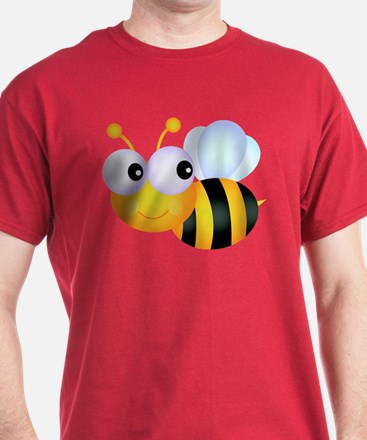 Cute Cartoon Bumble Bee T-Shirt