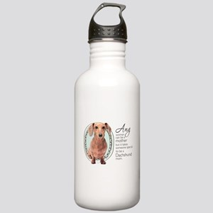 Dachshund Mom Stainless Water Bottle 1.0L