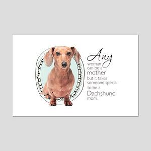 Dachshund Mom Mini Poster Print