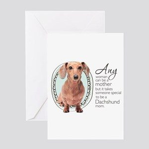 Dachshund Mom Greeting Card