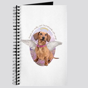 Dachshund Angel Journal
