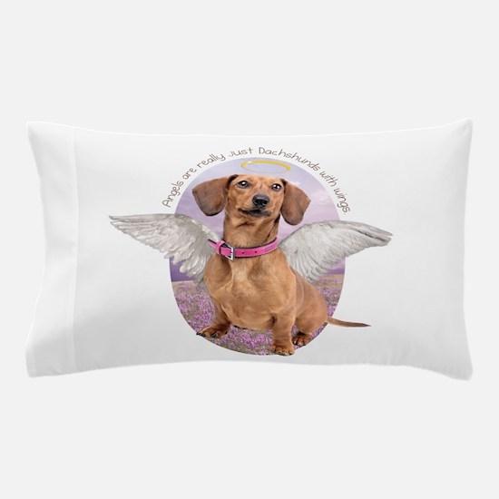 Dachshund Angel Pillow Case