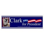 Clark G for President Sticker (Bumper)