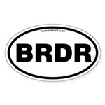 Birder Sticker (Oval 10 pk)