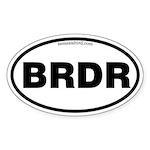 Birder Sticker (Oval 10 pk)