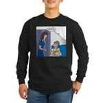 Airline Seatbelt Issues Long Sleeve Dark T-Shirt