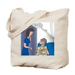 Airline Seatbelt Issues Tote Bag