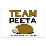Team Peeta Large Poster