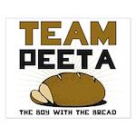 Team Peeta Small Poster