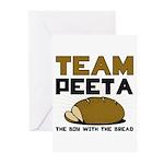 Team Peeta Greeting Cards (Pk of 10)