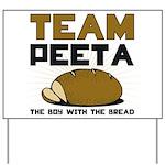 Team Peeta Yard Sign