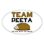Team Peeta Sticker (Oval)