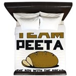 Team Peeta King Duvet