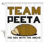 Team Peeta Shower Curtain