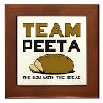 Team Peeta Framed Tile