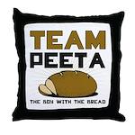 Team Peeta Throw Pillow