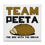 Team Peeta Tile Coaster