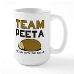 Team Peeta Large Mug