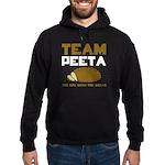 Team Peeta Hoodie (dark)