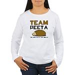 Team Peeta Women's Long Sleeve T-Shirt