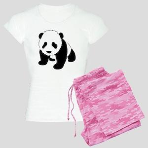 Baby Panda Cub Crawling Women's Light Pajamas