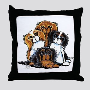 CKCS 2nd Generation Throw Pillow