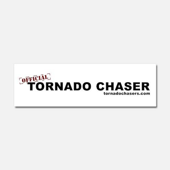 Cute Storm chasing Car Magnet 10 x 3