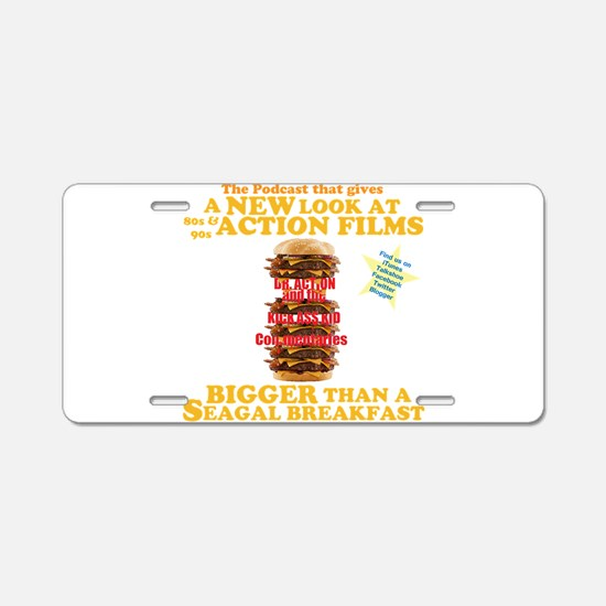 Nifty Gifts Aluminum License Plate