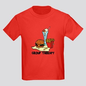 Food Group Therapy Kids Dark T-Shirt