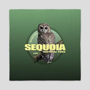 Sequoia (Owl) WT Queen Duvet