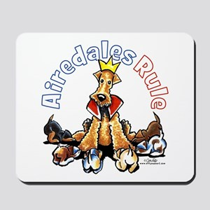 Airedales Rule Mousepad