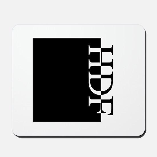 HDF Typography Mousepad