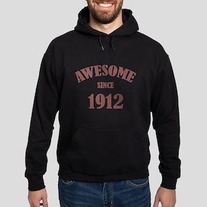 Awesome Since 1912 Hoodie (dark)