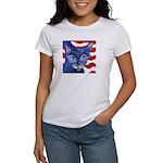 Cat 5 Celebrates the 4th Women's T-Shirt