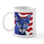 Cat 5 Celebrates the 4th Mug